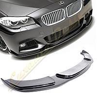 Накладка переднего бампера стиль Hamann для BMW F10 M-paket