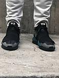 Кроссовки Adidas Y-3 Qasa x Kaiwa Chunky black green. Живое фото. Топ качество (Реплика ААА+), фото 2