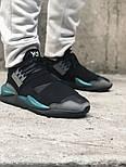 Кроссовки Adidas Y-3 Qasa x Kaiwa Chunky black green. Живое фото. Топ качество (Реплика ААА+), фото 5