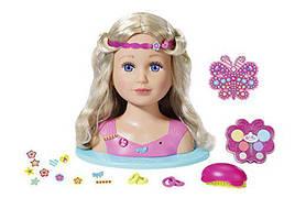 Кукла манекен Беби Борн Baby Born Сестричка с аксессуарами Sister Styling Head Zapf Creation 824788