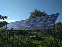 Сетевая солнечная электростанция 30 кВт, фото 1