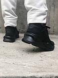 Мужские кроссовки Adidas Y-3 Qasa x Kaiwa Chunky full black. Живое фото. Топ качество (Реплика ААА+), фото 8