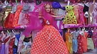 "Кукла типа ""Барби""  9807-10 с набором одежды"