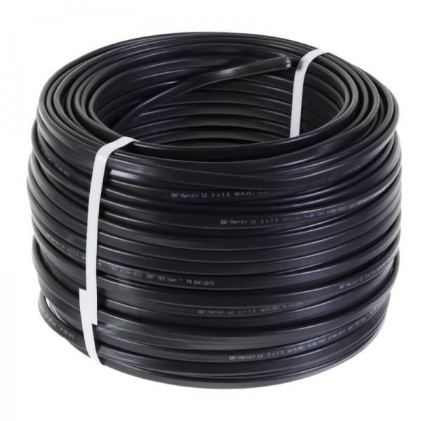 ПВС 4х2,5 черный ИнтерЭлектро