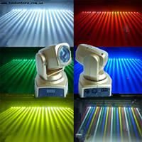 Вращающаяся световая голова LED Cree 10W RGBW MINI BEAM