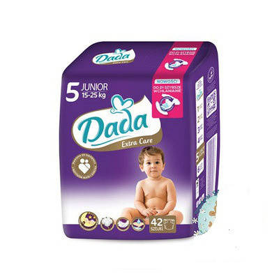 Подгузники Dada Extra Care 5 Junior  (12-25 кг.) 42шт., фото 2