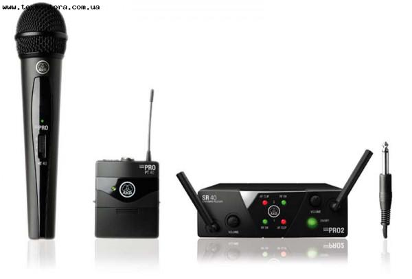 AKG Радиомикрофон WMS 40 Mini 2 Vocal/Instrumental Set Dual