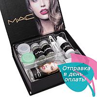 Линзы косметические цветные MАС Sensual Beauty Lens Turquaoise (бирюзовые)