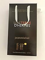 Мини парфюм в подарочной упаковке jeanmishel loveTerre D`Hermes 45мл