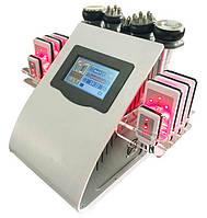 Аппарат BLC-WL 919S6 в 1: Лазерный липолиз, Кавитация, RF, Вакуум