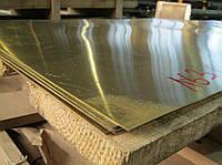 Лист латунный Л63 0,4-8 х 600х1500 мм мяг, п/тв, тв. Россия, Украина.