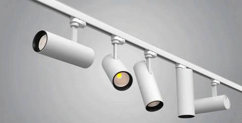 Светодиодные трековые led светильники: примеры использования и предназначение.
