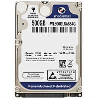 "Накопитель HDD 2.5"" 500Gb Mediamax (WL500GLSA854G) `"
