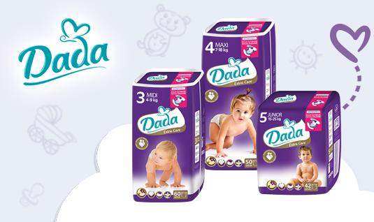 Подгузники Dada Extra Care 4 Maxi (7-18 кг.) 50шт., фото 2