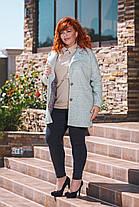 Пальто с карманами БАТАЛ 04/с497, фото 3