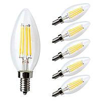 Набор декоративных LED лампочек Kakanuo E12 (6 шт/120-130V AC)
