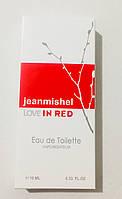 Минипарфюм jeanmishel love in red  10 мл, фото 1