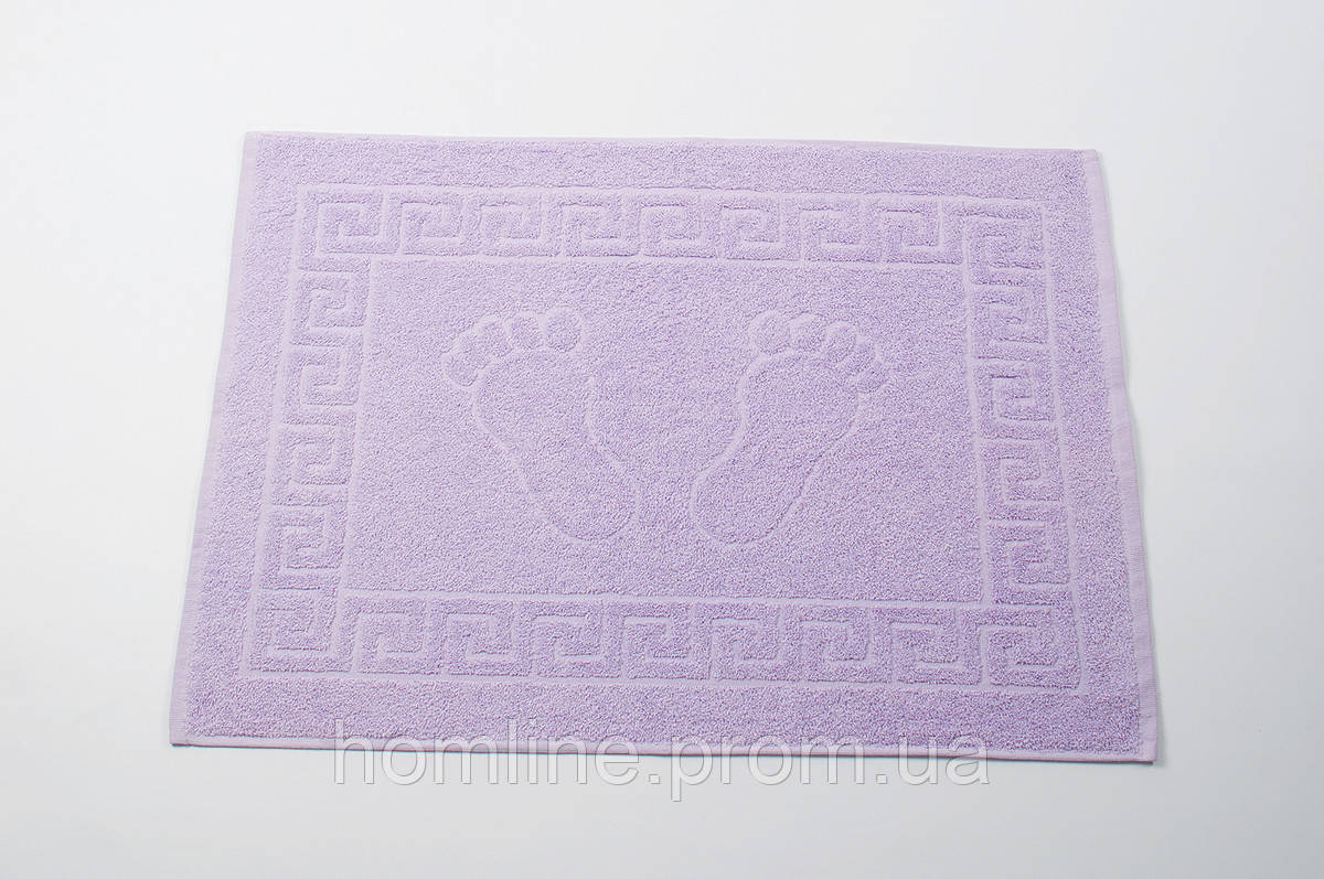 Полотенце для ног Lotus Отель Сиреневый (550 г/м²) 50*70
