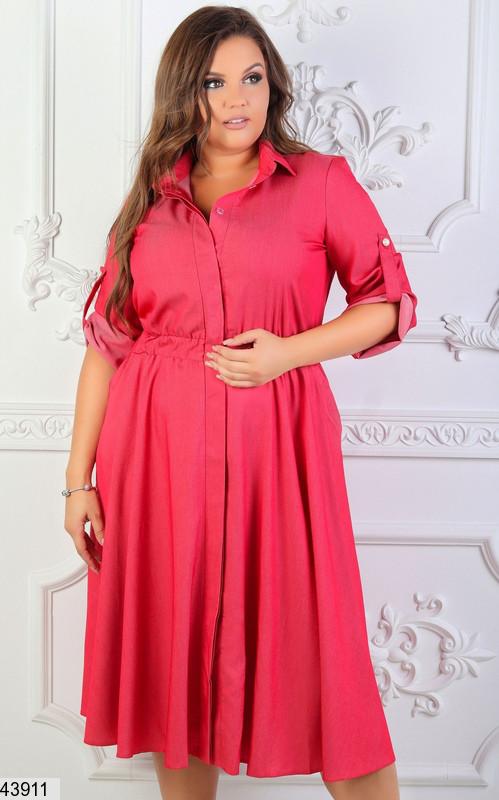 Платье-рубашка размеры 54,52,50