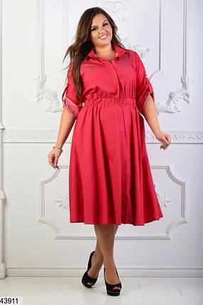Платье-рубашка размеры 54,52,50, фото 2