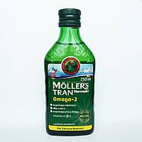Рыбий жир Норвегия  Mollers Tran omega 3 250 мл