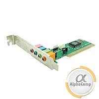 Звуковая карта PCI Manli C-Media M-CME8738-4CH (4 канала) б/у