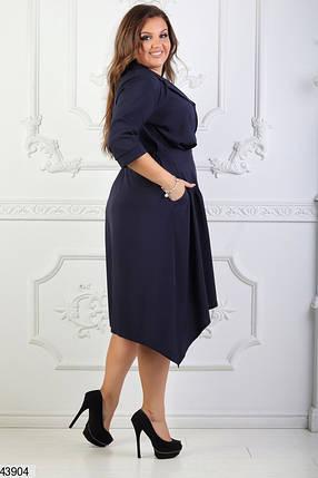 Платье темно-синее размеры 54,54,50, фото 2