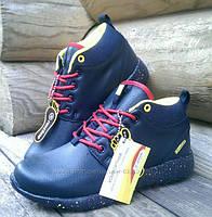 Кожанные зимние Женские (Подростковые) кроссовки Restime 38,39,40.41 размеры