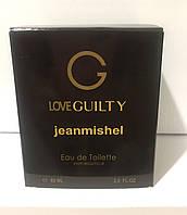 Тестер в подарунковій упаковці jeanmishel loveGuilty 60мл