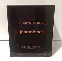 Тестер в подарунковій упаковці jeanmishel loveCristal Noir 60 мл