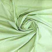 Польская хлопковая ткань светло-салатовая 160 см