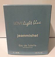 Тестер в подарочной упаковке jeanmishel loveLight Blue 60 мл