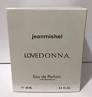 Тестер в подарунковій упаковці jeanmishel loveDonna 60 мл