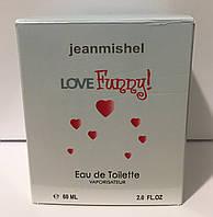 Тестер в подарунковій упаковці jeanmishel loveFunny 60 мл