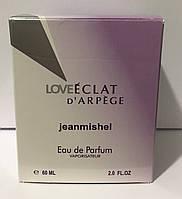 Тестер в подарочной упаковке jeanmishel loveEclat d`Arpege 60 мл
