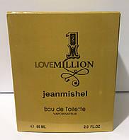 Тестер в подарунковій упаковці jeanmishel 1 loveMillion 60 мл