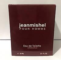 Тестер в подарунковій упаковці jeanmishel pour homme 60 мл