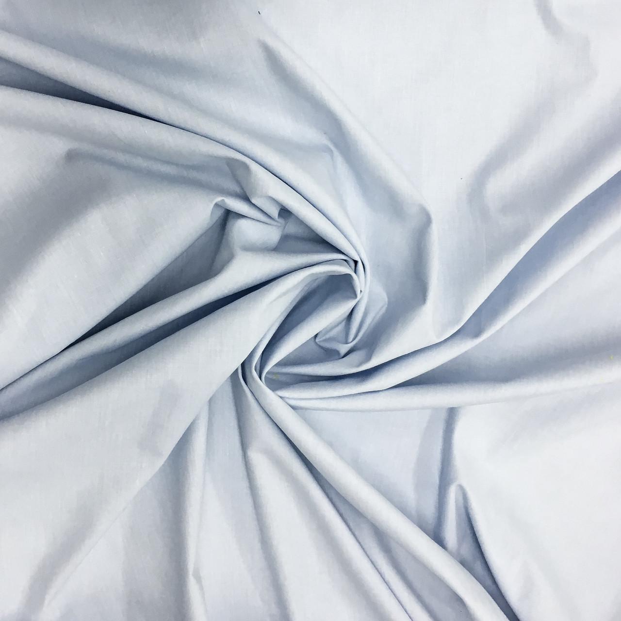 Польская хлопковая ткань голубая 220 cм