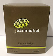 Тестер в подарунковій упаковці jeanmishel loveBe Delicious 60 мл