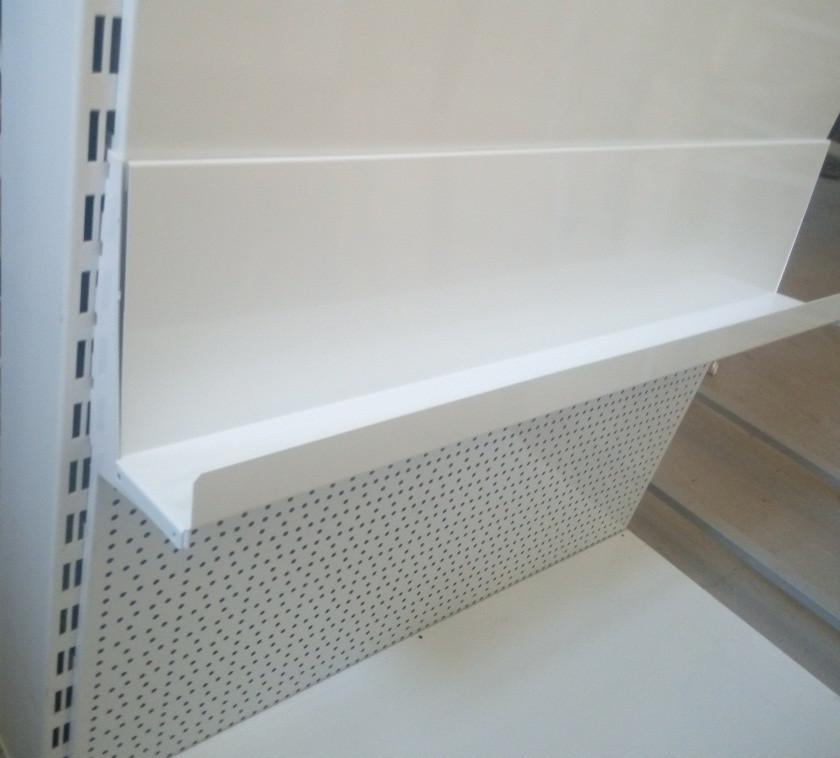 Кронштейн одинарний книжковий для металевої полки в книжкових стелажах