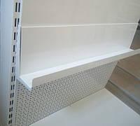 Кронштейн одинарний книжковий для металевої полки в книжкових стелажах, фото 1