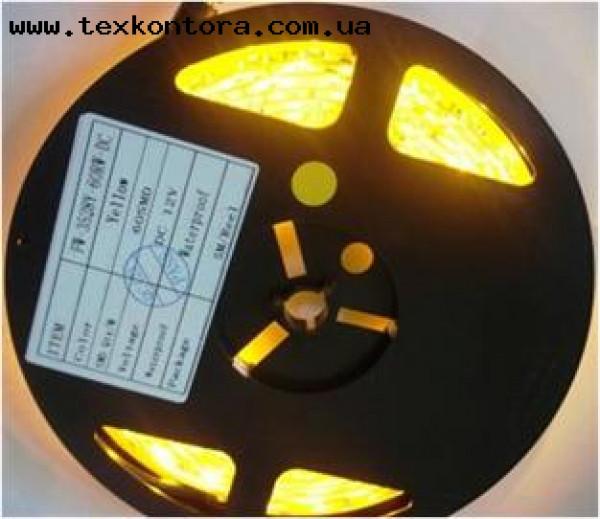 Светодиодная лента LED-3528 желтая.