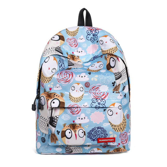 Школьный рюкзак Совушки