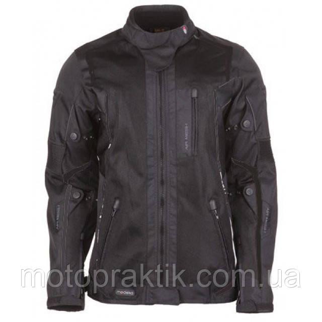 Modeka Mesh 2 EVO Lady Black Jacket, EU34 Мотокуртка тестильная жіноча літнє із захистом