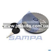 Крышка топливного бака (D=80мм) с замком. алюминиевая \0004711230 \ 096.022