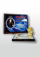 Сертификат настольный большой со статуэткой