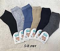 Однотонные Детские носочки для мальчиков
