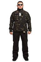 Куртка тактическая универсальная Mil-tec (Германия) Mandrake black