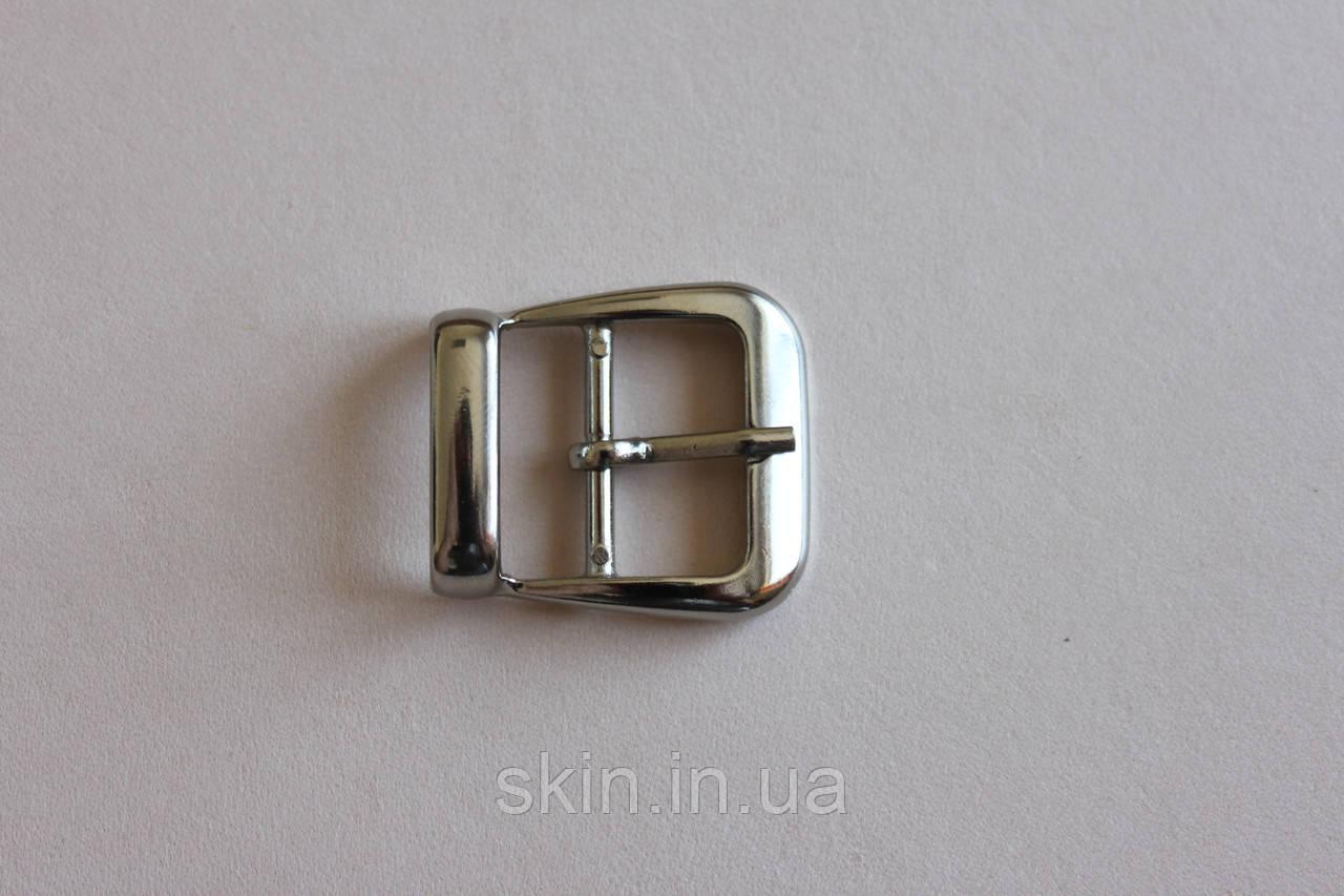 Пряжка сумочная, ширина - 25 мм, цвет - никель, артикул СК 5311