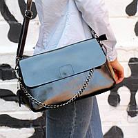 """Женская кожаная сумка """"Синди2b, Black"""", фото 1"""